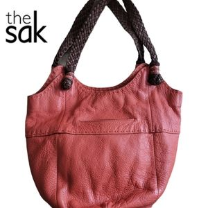 THE SAK hobo/shoulder leather bag.